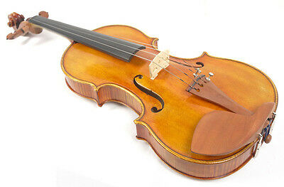 * Musical Instruments Size 4/4 Handmade Oil Antiqued Varnish Old Spruce Violin