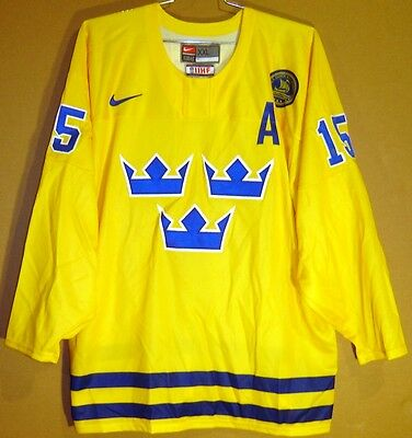 Team Sweden 2016-17 World Cup Of Hockey Anders Hedberg Jersey