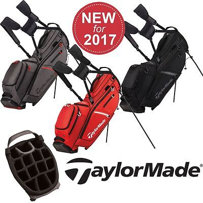 Taylormade Golf 2017 Flextech Crossover Stand Bag Mens Carry Bag 14-Way Divider