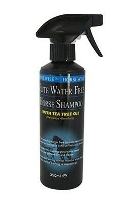 HORSEWISE ELITE WATER FREE SHAMPOO horse towel dry touch up coat grooming