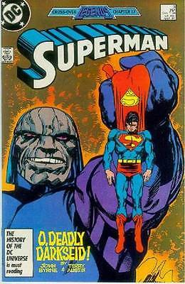 Superman (2nd series) # 3 (John Byrne) (Legends tie-in) (USA, 1987)