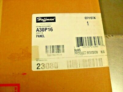 Hoffman A30P16 Panel For Enclosure  new factory sealed box  23080