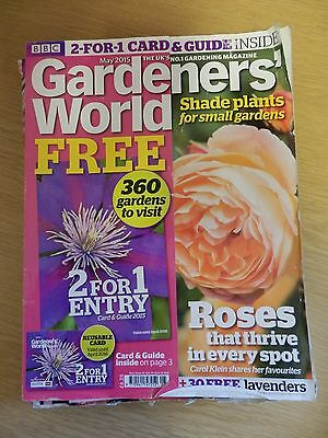 Gardeners' World Magazine: May 2015. Excellent condition.