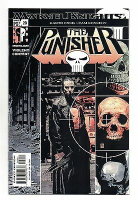 Punisher Vol 4 No 28 Aug 2003 (NM) Marvel Knights, Modern Age (1980 - Now)