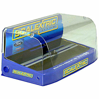 SCALEXTRIC Slot Car Crystal Display Case - Blue Base