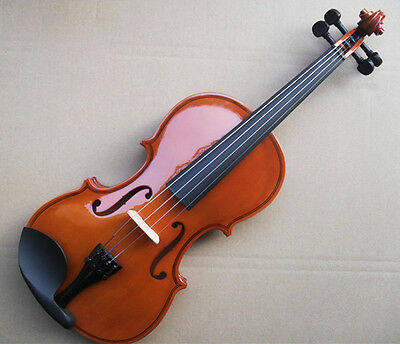 * Light Brown Musical Instruments Basswood Beginner Violin 1/4 3/4 4/4 1/2 1/8