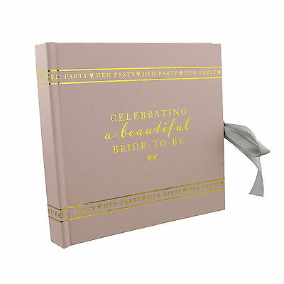Amore HEN PARTY Bride To Be Pink Photo Album WG694