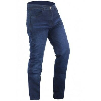 Sports Alloy Riding Motorcycle dark wash Jeans Lined DuPont Kevlar Aramid Fib