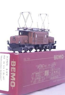 BEMO 1255 137 HOm - SWISS RhB Ge 6/6 ARTICULATED CROCODILE KROKODIL LOCOMOTIVE