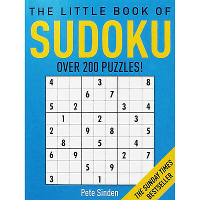 The Little Book Of Sudoku - Over 200 Puzzles (Paperback), Books, Brand New