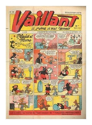 Vaillant   N°    179   18/10/1948   Be+