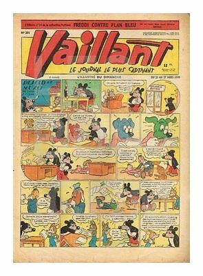 Vaillant   N°    201   1949   Be/be+