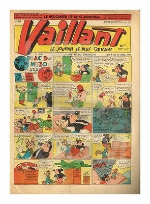 Vaillant   N°    203   1949   Be/be+