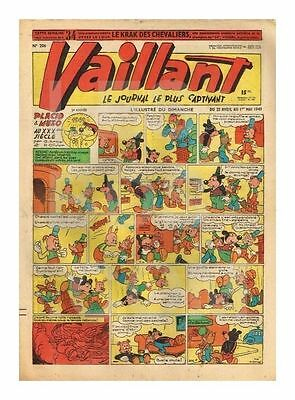 Vaillant   N°    206   1949   Be/be+