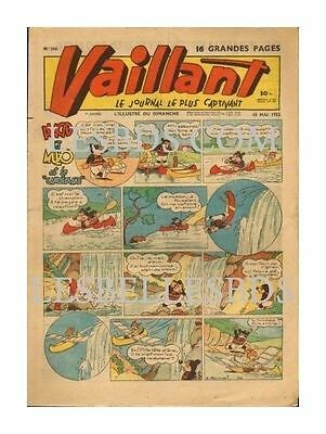 Vaillant   N°    366   1952   Be-/be Ea