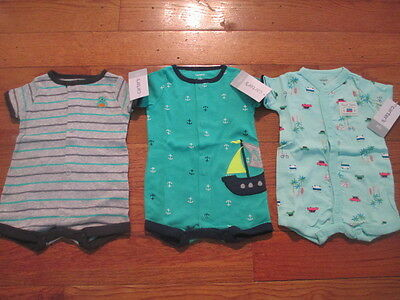 3 piece LOT of baby boy spring/summer clothes size Newborn NWT