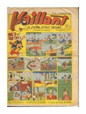 Vaillant   N°    497   1954   Be/be+