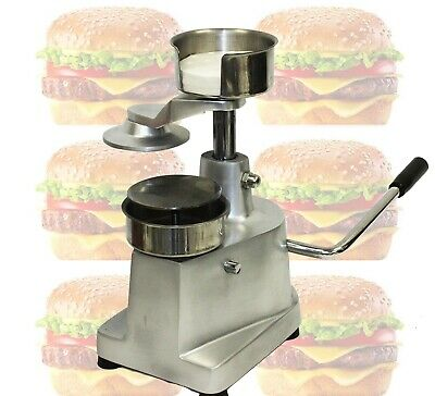 New Manual Hamburger Burger Meat Patties Meatball Press Patty Shaping machine