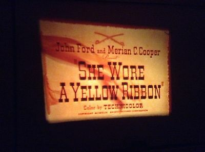 super 8mm film she wore a yellow ribbon 1x400ft colour sound new sealed