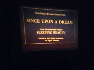 super 8mm film once upon a dream sleeping beauty 200ft colour sound new sealed