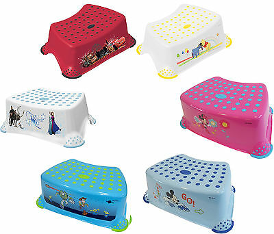 Solution STEP STOOL DISNEY CHARACTERS Baby/Toddler Toilet/Bath Accessory