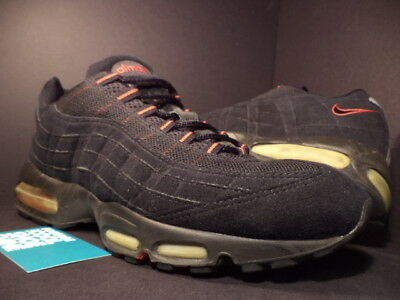 Details about 2000 NIKE AIR MAX 95 BG BLACK COMET RED BRED SUEDE ATMOS 1 655038 063 5.5Y 5.5