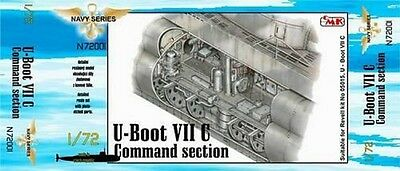 "CMK N72001 Detail Resin Set ""Command Section"" for Revell® U-Boot VIIC in 1:72"
