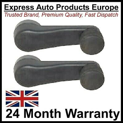 2 x Window Winder Handle VW Golf MK3 MK4 Vento Bora Polo 6N1 Caddy Pair