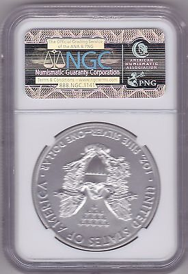 Slabbed Ms70 Usa 1 Ounce Eagle 2015 Silver Dollar First Releases