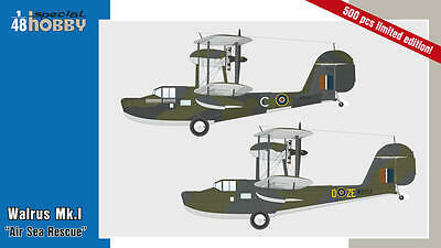 SPECIAL HOBBY 48163 Walrus Mk. I Air Sea Rescue in 1:48 LIMITED