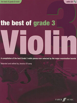 The Best of Grade 3 Violin Sheet Music Book with CD & Piano Accompaniment