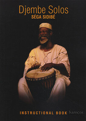 Djembe Solos Sega Sidibe Instructional Book with 2CDs