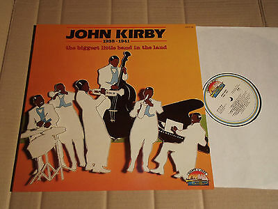 John Kirby - The Biggest Little Band - Giants Of Jazz - Lp - Lpjt 26 - Italy1985