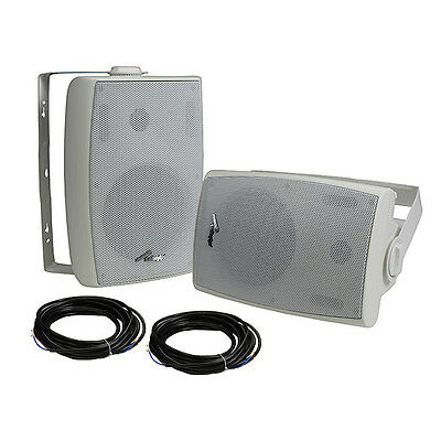 "Audiopipe ODP650DBT Bluetooth 6.5"" Indoor/Outdoor Weatherproof Loud Speaker Pair"
