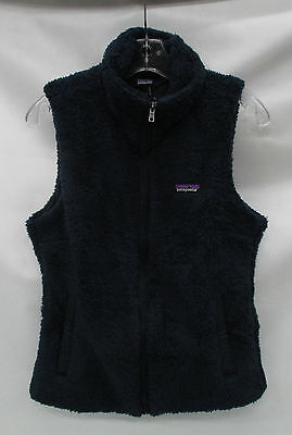 Patagonia Womens Los Gatos Fleece Vest 25216 Navy Blue Size Extra Large
