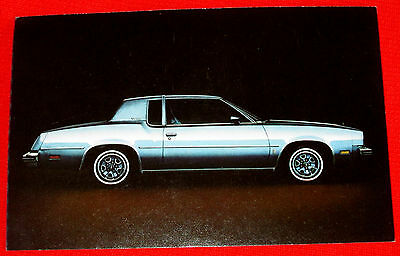 1979 Cutlass Supreme Oldsmobile General Motors Postcard c