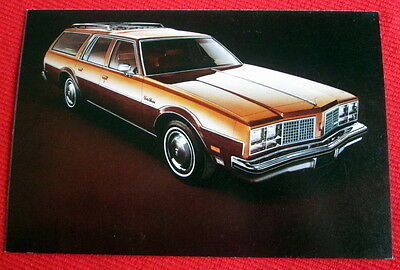 1979 Custom Cruiser Oldsmobile General Motors Postcard c