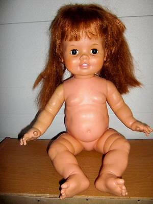 """Ideal Corp ~ 24"""" Baby Crissy Doll 1972 #GHB-H-225 #18"""