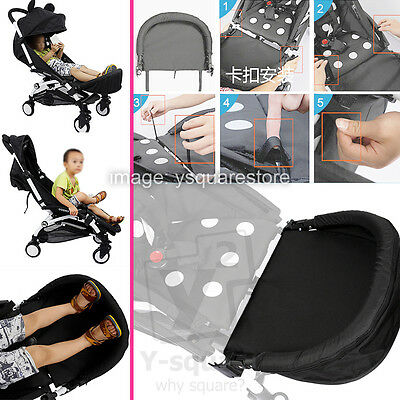 EXTENSION 32cm Generic Booster Footrest Bumper Stroller Accessories YuYu, YoYa