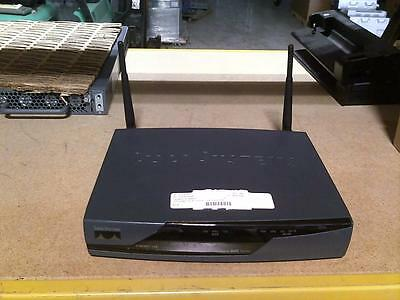 Cisco 881W CISCO 871W-G-A-K9 4-Port Ethernet SEC Wireless Router • Free Shipping