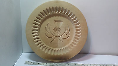 Stanley Whyte Traditional Wood Shortbread or Butter Cookie Mold Made In Scotland