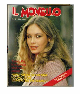 Il Monello 1979 n. 4 Tiziana Pini Julio Iglesias Village People