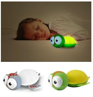 Baby Zoo Gus Turtle One-Touch Nightlight Nursery Room Glowing Lamp Comforter