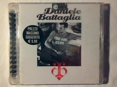 DANIELE BATTAGLIA Omonimo Same S/t cd ep 2009 SIGILLATO SEALED!!!