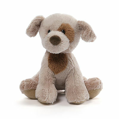 Gray Spotted Lab Mini Plush Barking Dog