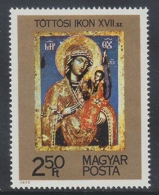 Hungary 1975 - Icone In Ungheria - Ft. 2,50 - Mnh