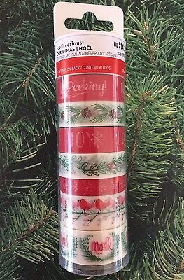 Christmas Washi Tape 8 Rolls 10 Yards Each Planner Calendar Journal Recollection