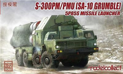 MODELCOLLECT UA72045 S-300 (SA-10 Grumble) Missile Launcher,5P85S/SD in 1:72