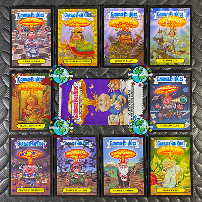 GARBAGE PAIL KIDS HORROR-IBLE COMPLETE BASE & CLASSIC MONSTER SET 220 CARDS+wrap