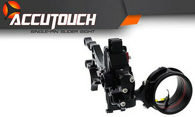 "Axcel AccuTouch Slider Sight 1 Pin .010"" RH/LH Black"